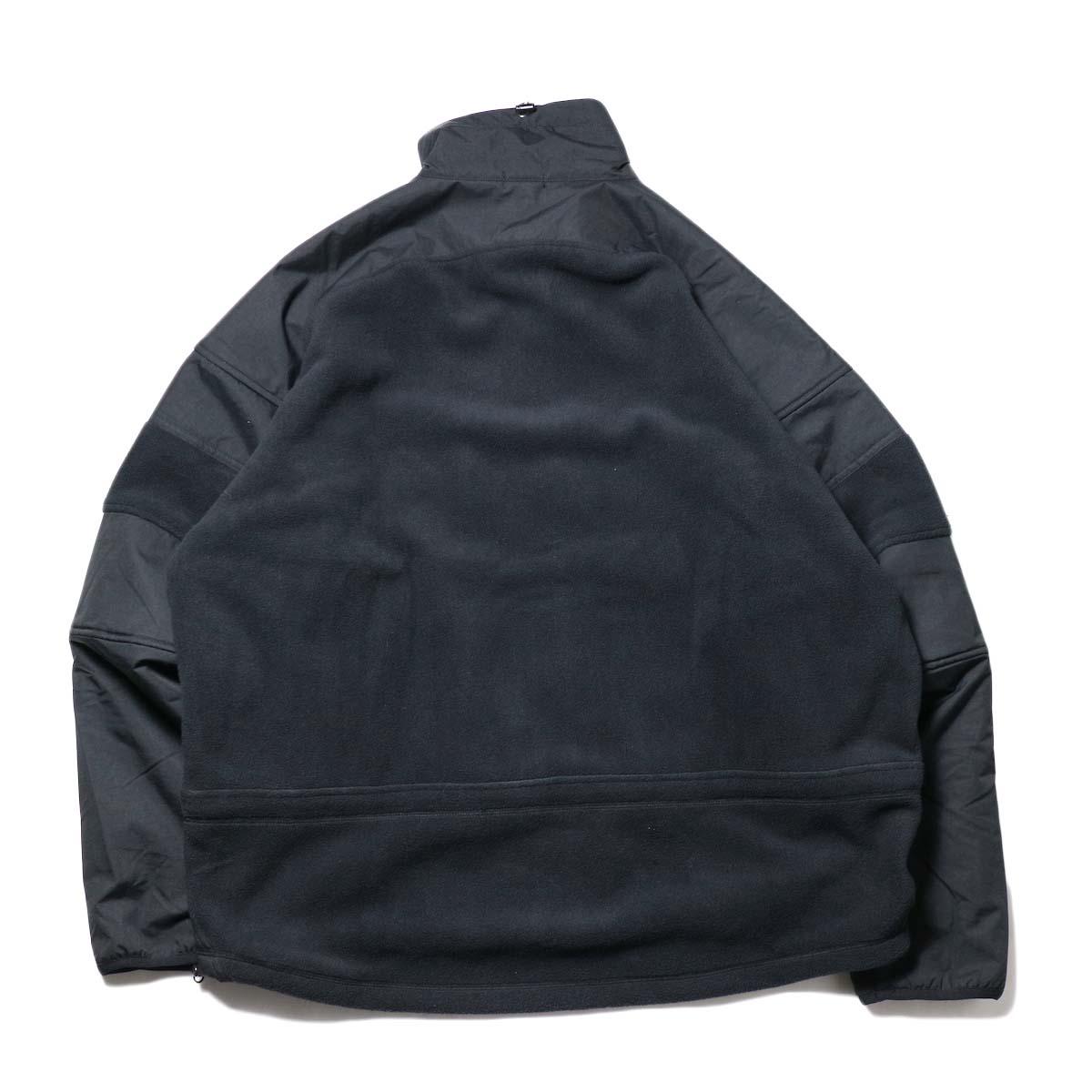 Marmot Histric Collection / Alpinist Tech Sweater (Black×Black)背面