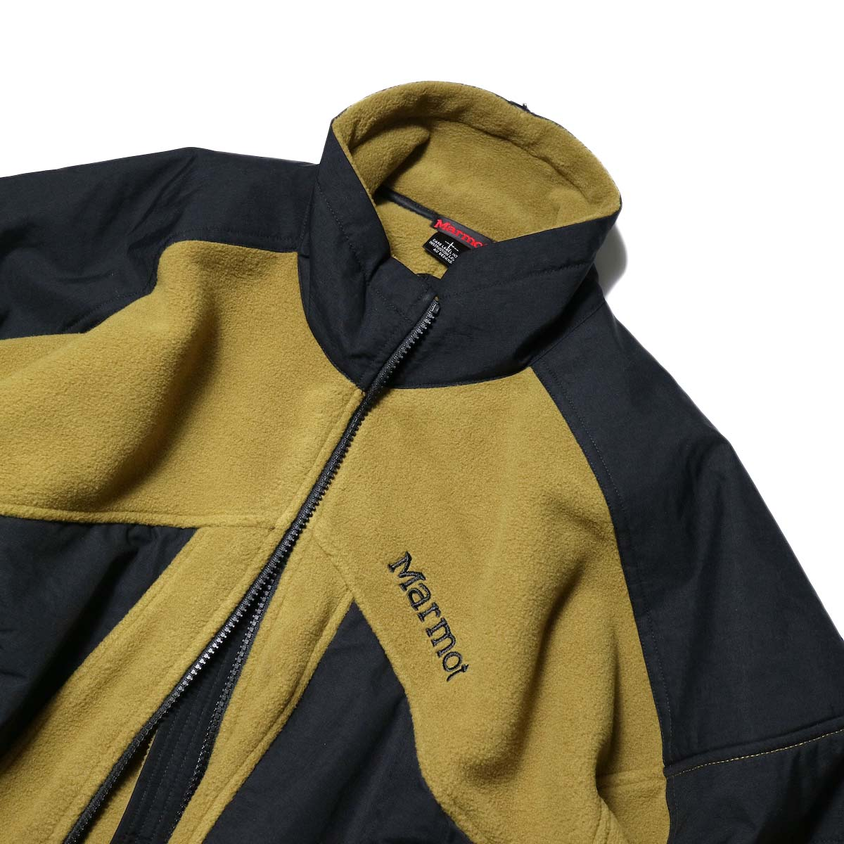Marmot Histric Collection / Alpinist Tech Sweater (Coyote×Black)襟