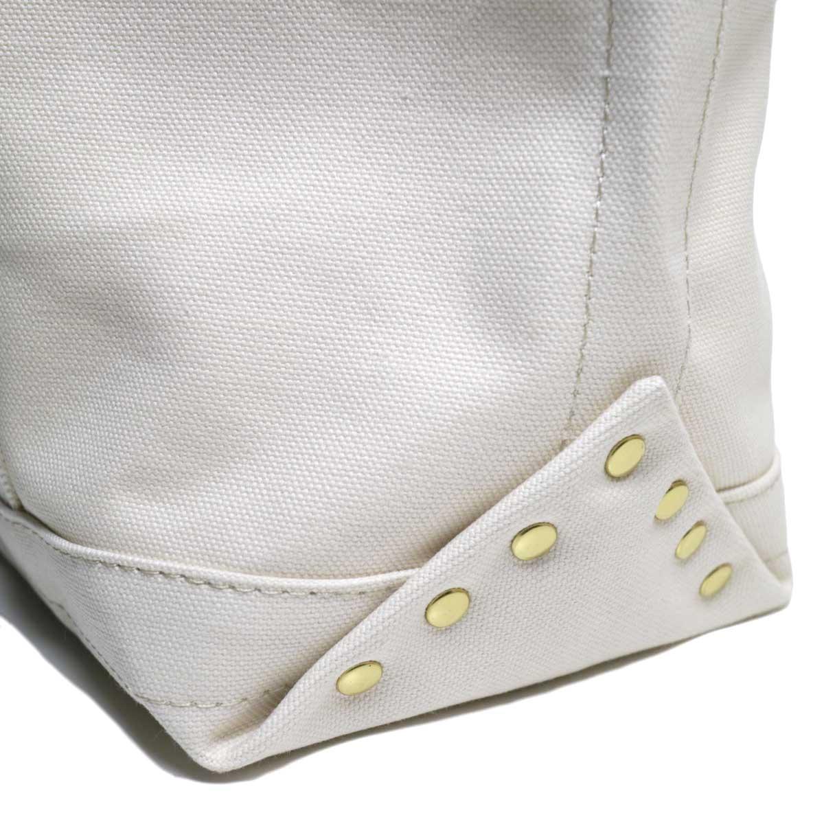 MASTER & Co. / RAILMAN BAG (White S) リベット