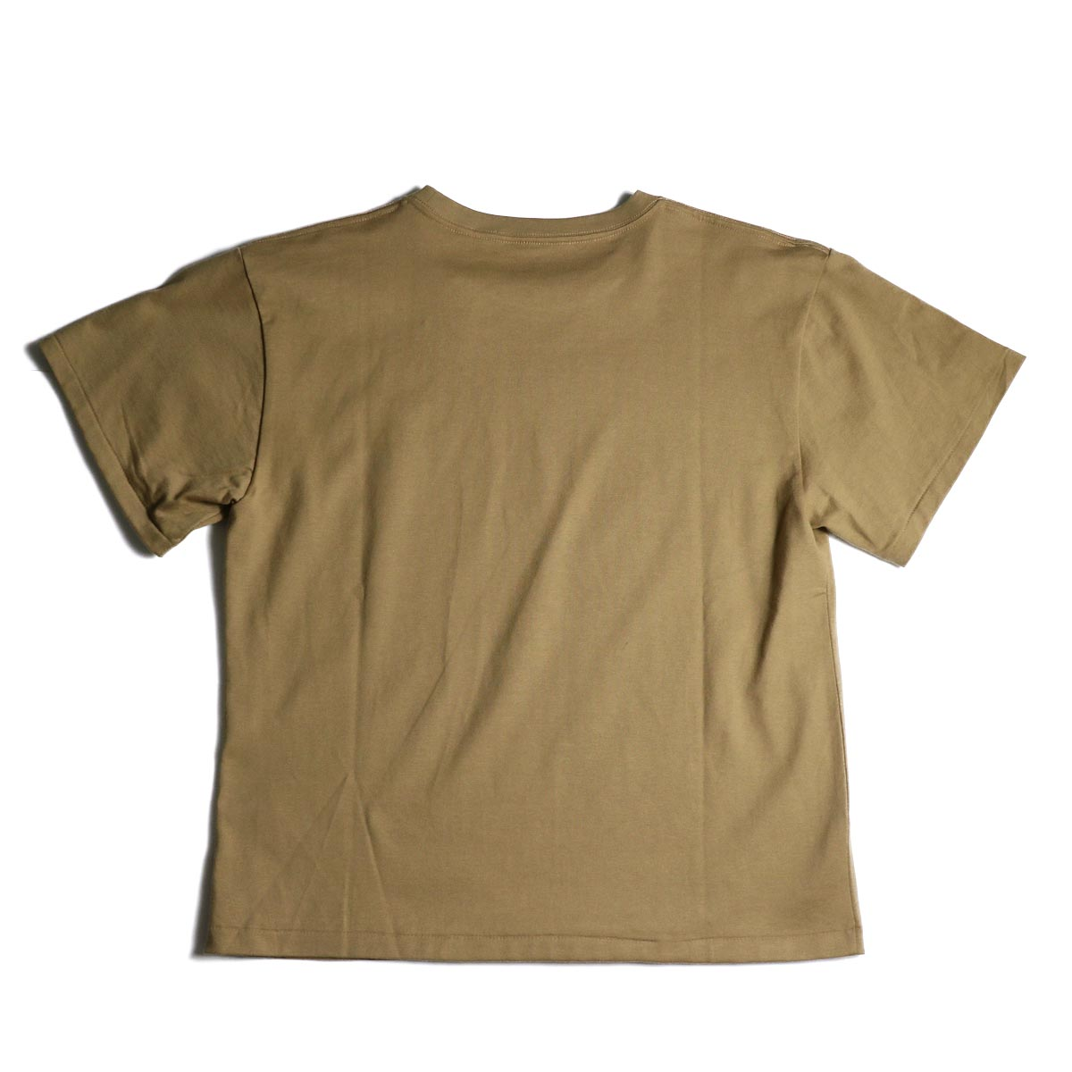 MASTER & Co. / Print T-Shrit (almond)背面