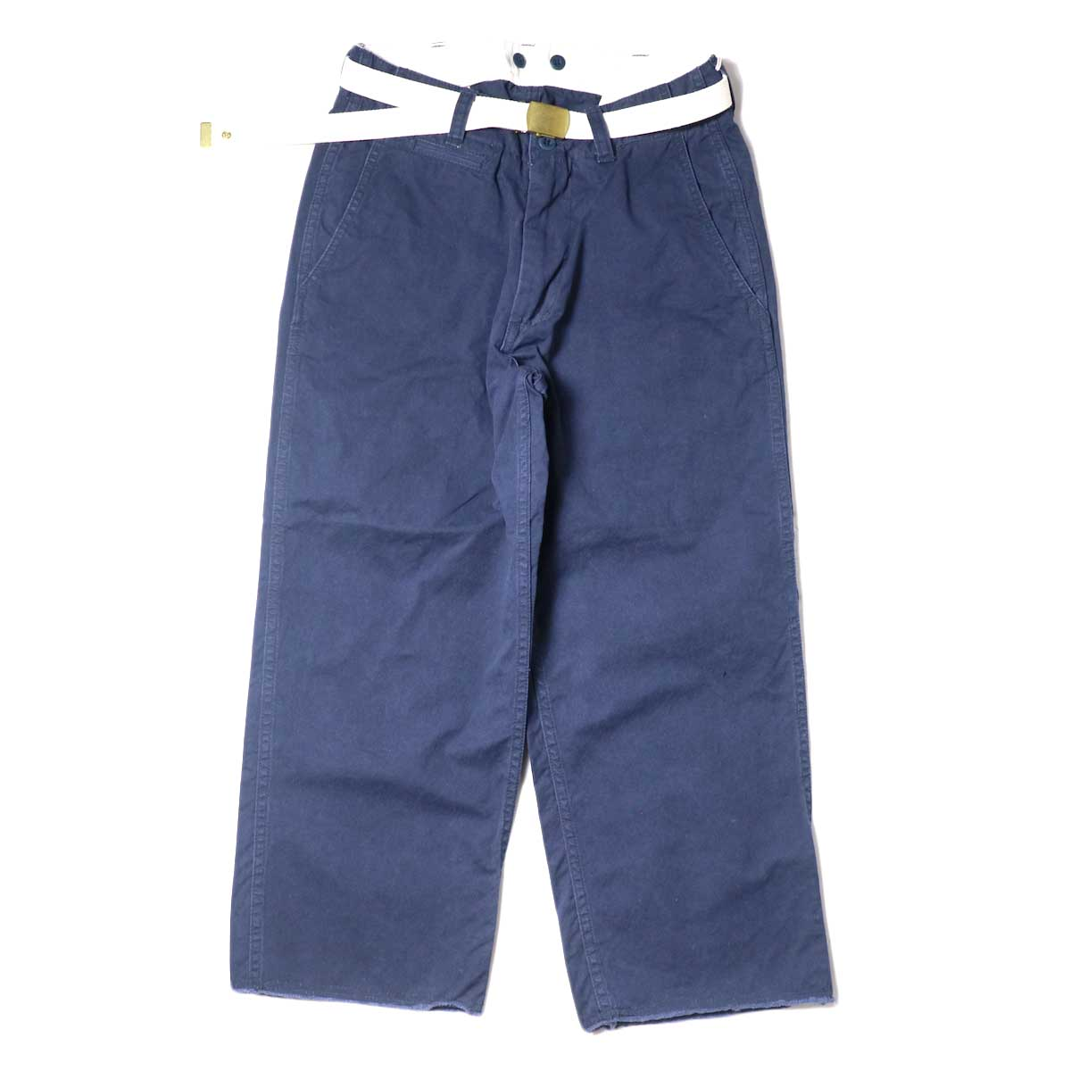 Master&Co. / CUT OFF PANTS (Navy) 正面
