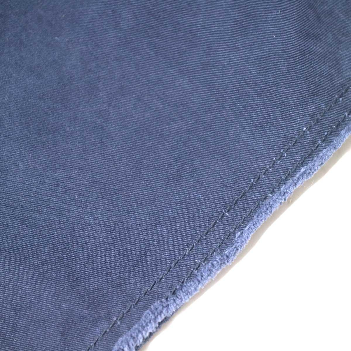 Master&Co. / CUT OFF PANTS (Navy) 裾・カットオフ