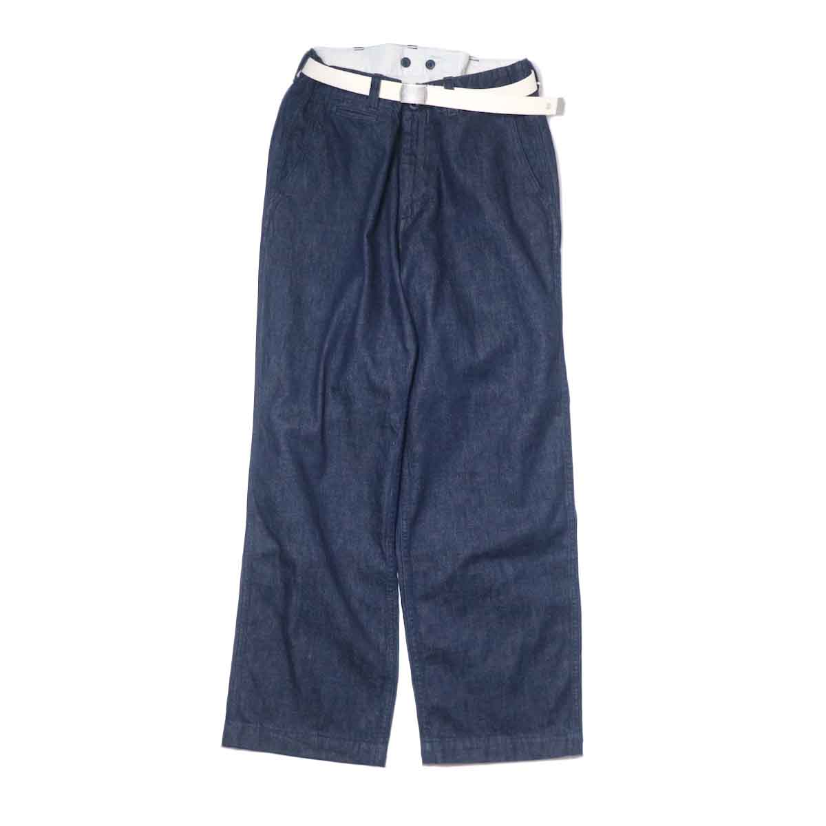 MASTER&Co. / ONE WASHED DENIM LONG PANTS 正面
