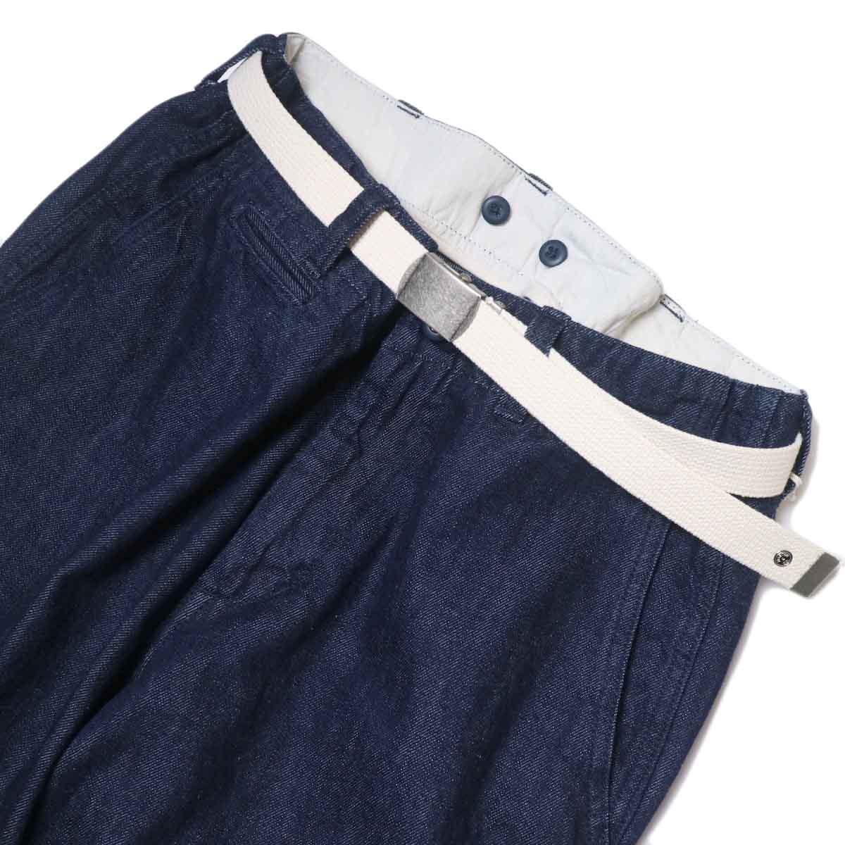 MASTER&Co. / ONE WASHED DENIM LONG PANTS フロントアップ①