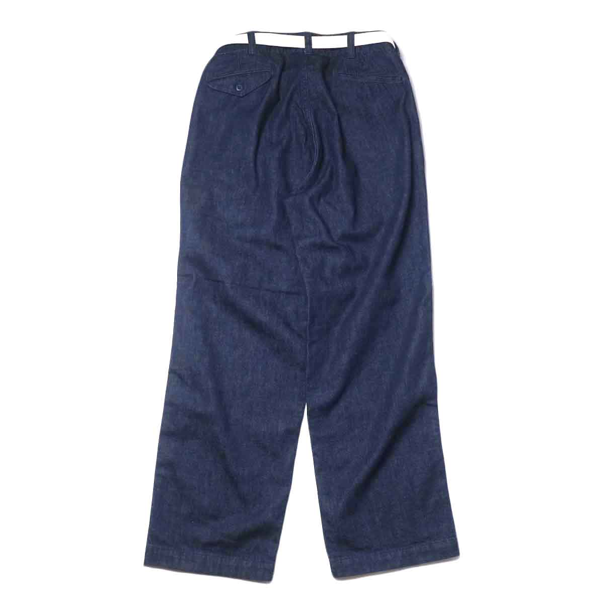 MASTER&Co. / ONE WASHED DENIM LONG PANTS 背面