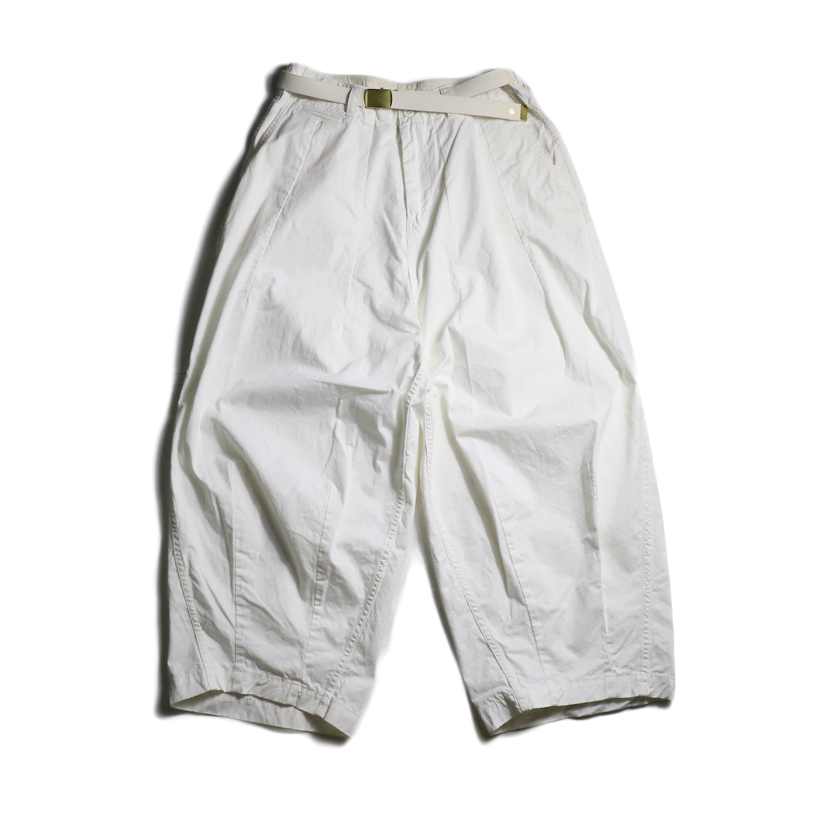 MASTER&Co. / Chino Farmars Pants (White)正面