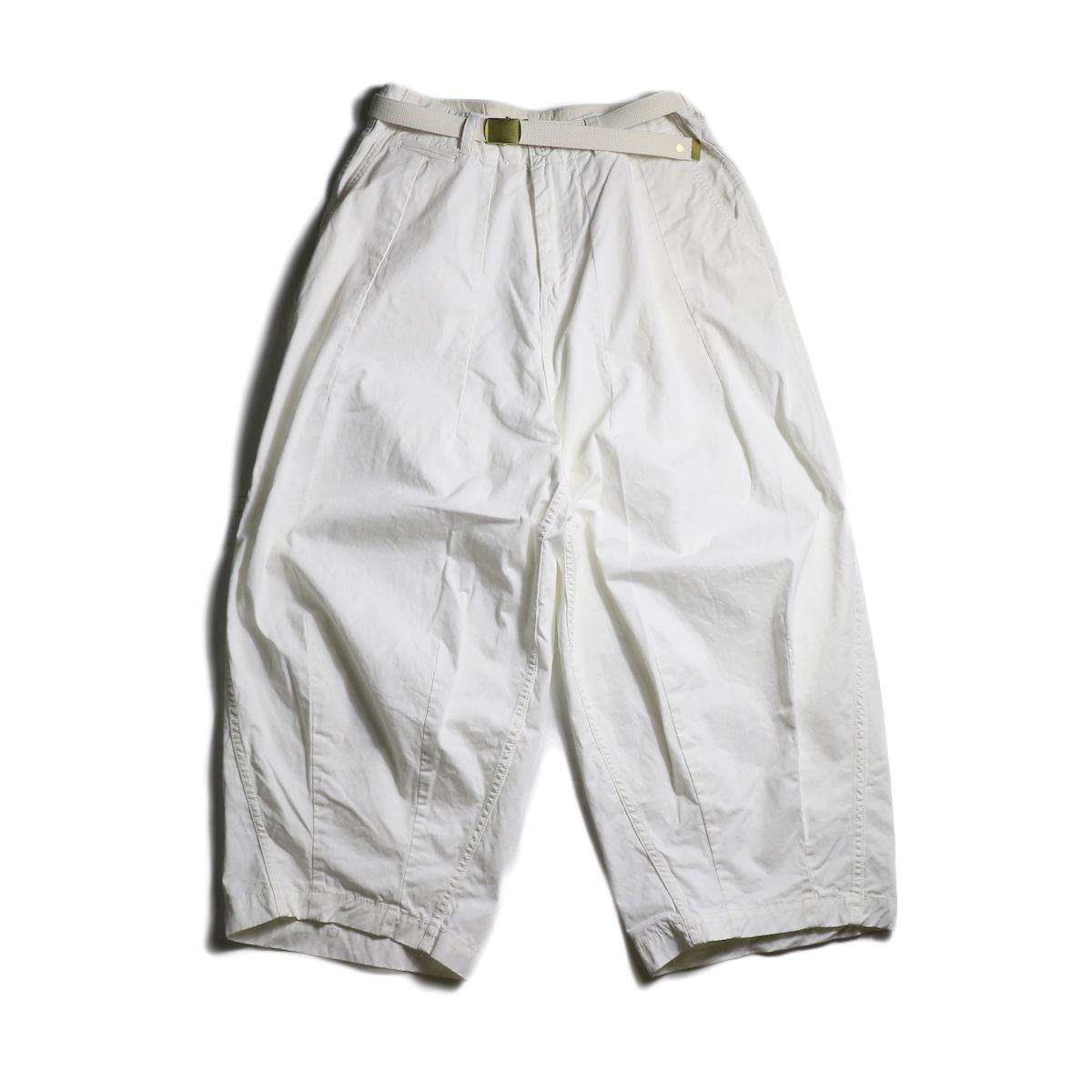 MASTER&Co. / Chino Farmars Pants (White)