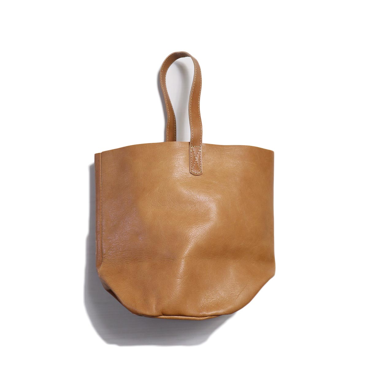 MASTER & Co. / GOAT ONE HANDLE BAG -BROWN