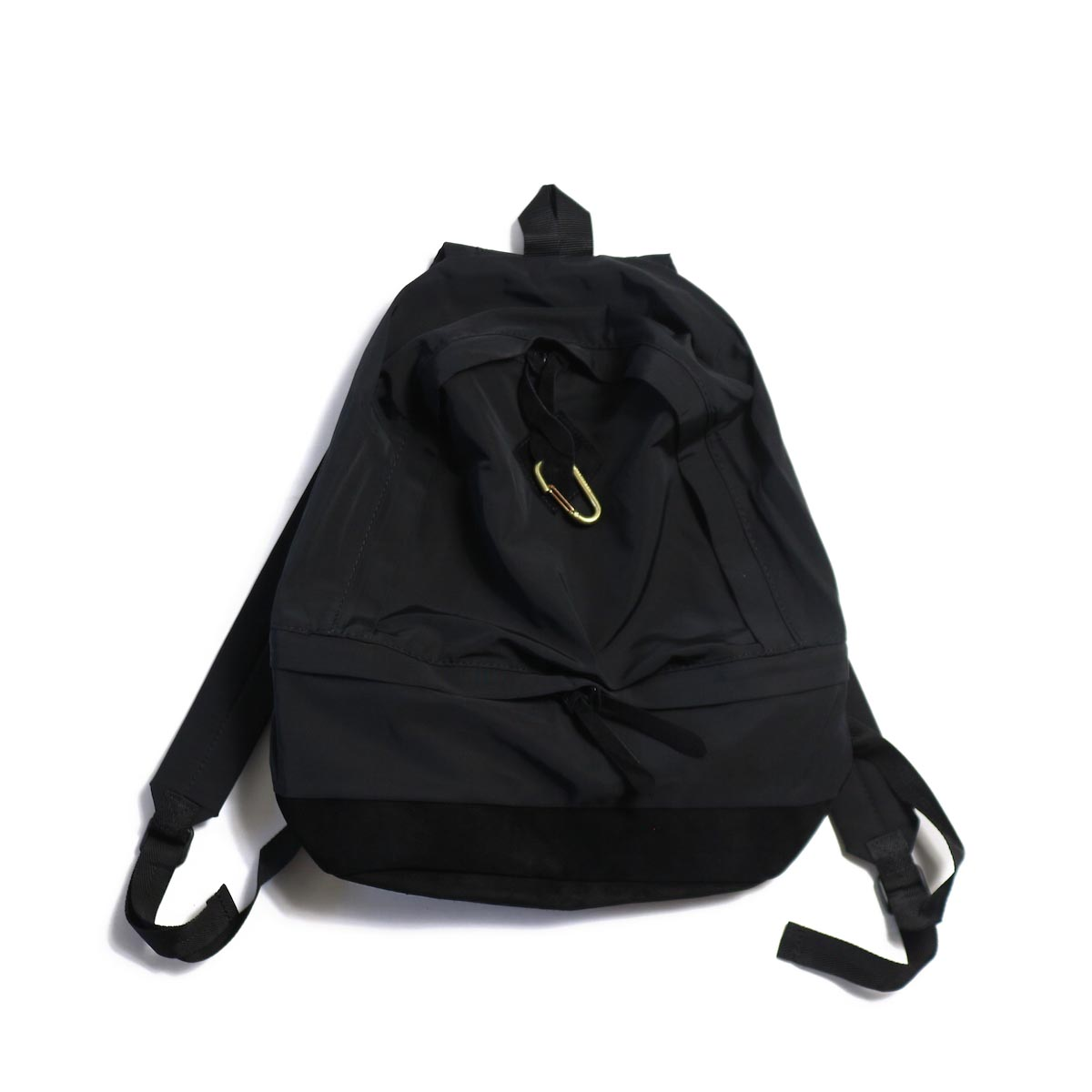MASTER & Co. / 60/40CLOTH DAY PACK + KARABINER -BLACK