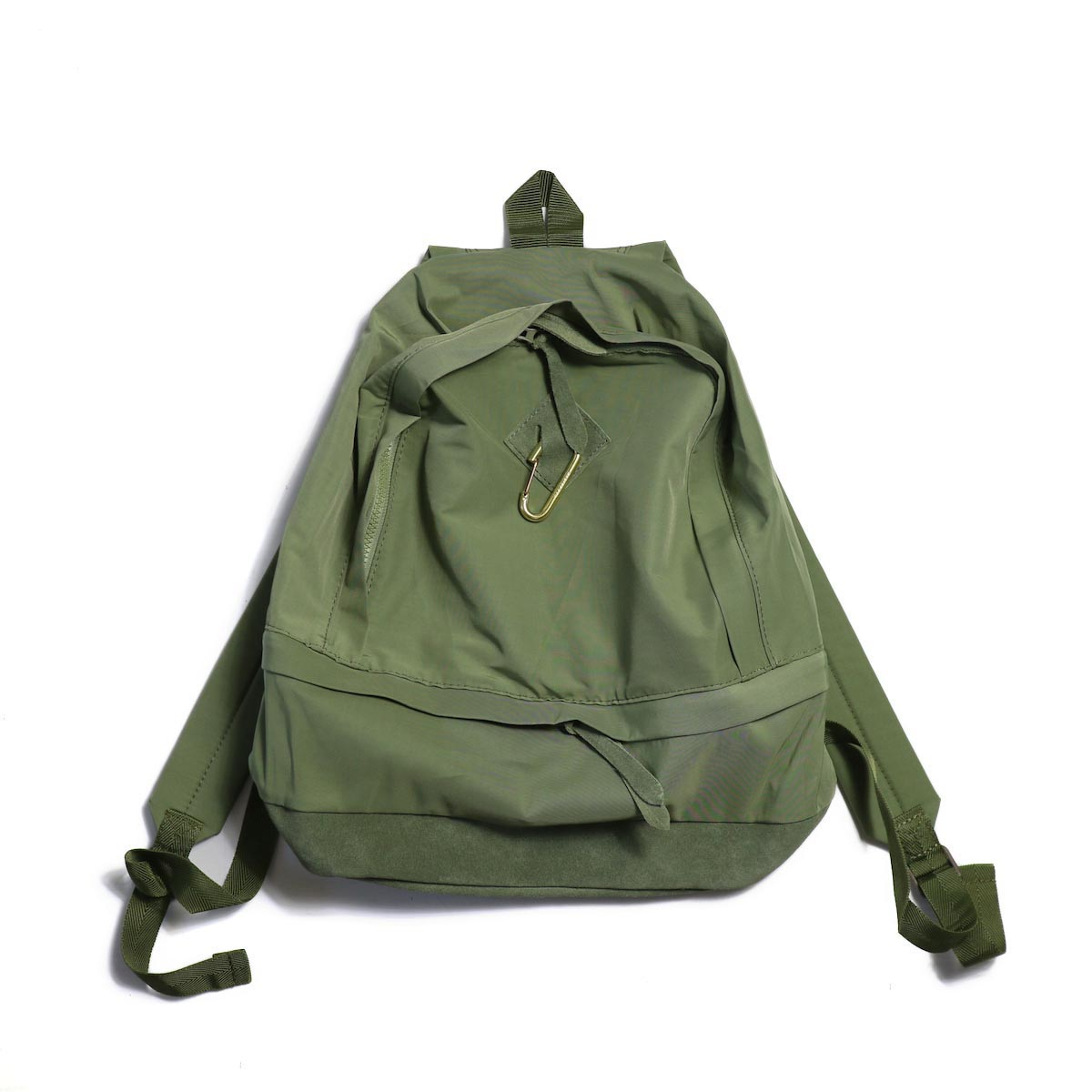 MASTER & Co. / 60/40CLOTH DAY PACK + KARABINER -OLIVE