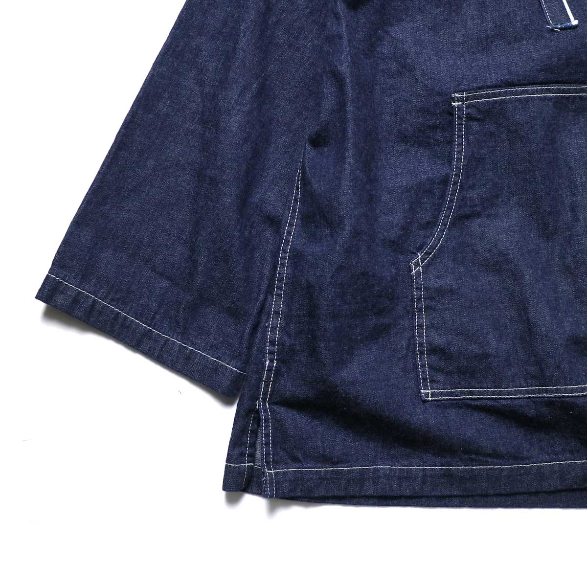 MexiPa / Selvage Denim Mexican Parker 袖、裾