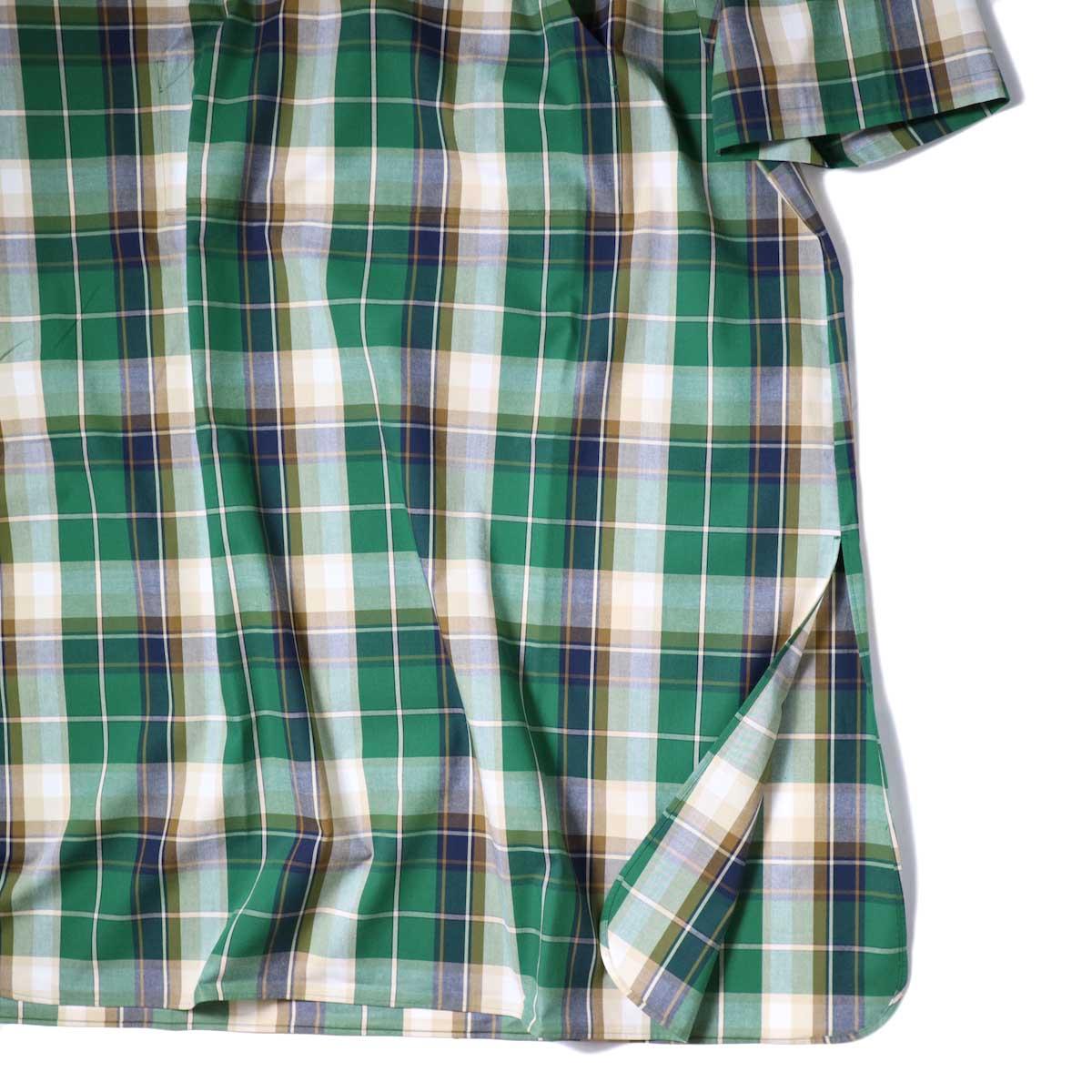 MexiPa / Madrascheck Mexican MaxiParker (Green) 袖・裾スリット