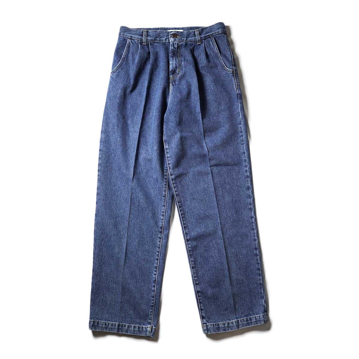 mfpen /BIG JEANS (Blue)正面