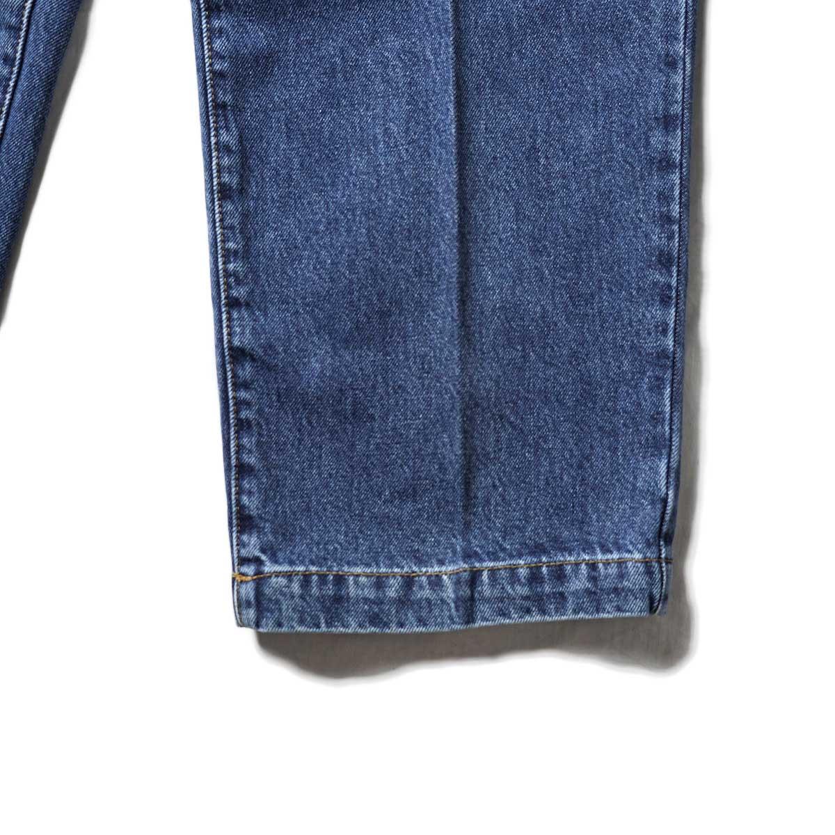 mfpen /BIG JEANS (Blue)裾
