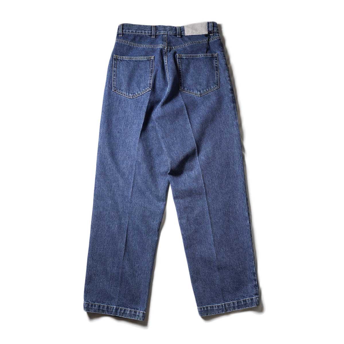 mfpen /BIG JEANS (Blue)背面