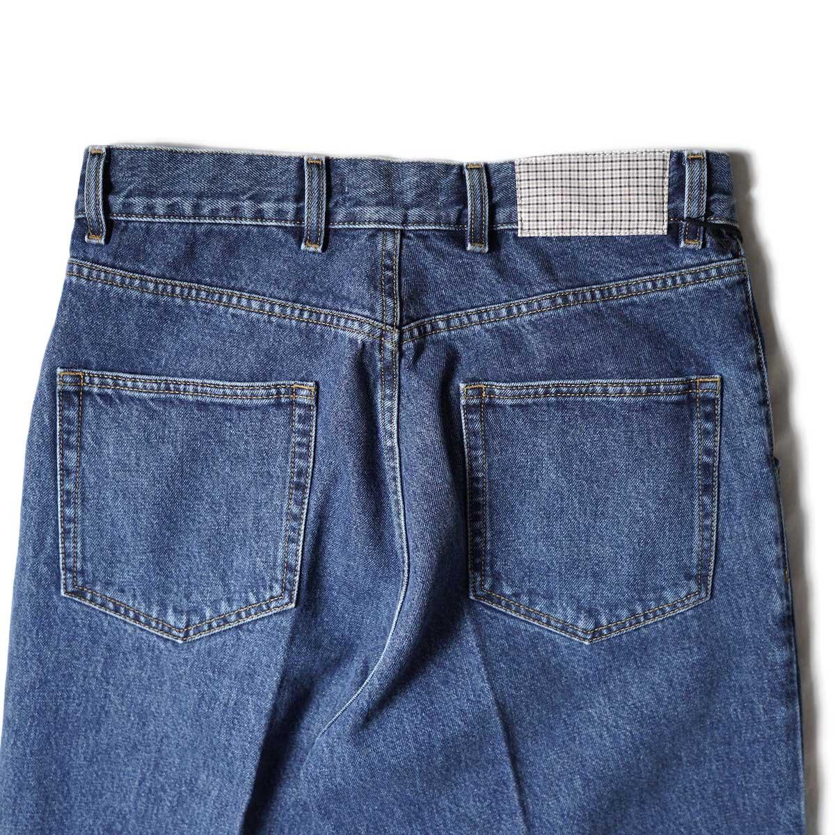 mfpen /BIG JEANS (Blue)ヒップポケット
