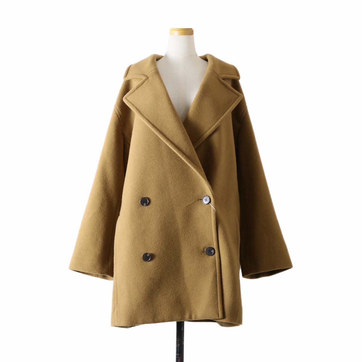 MY_  / Chester Coat -CAMEL