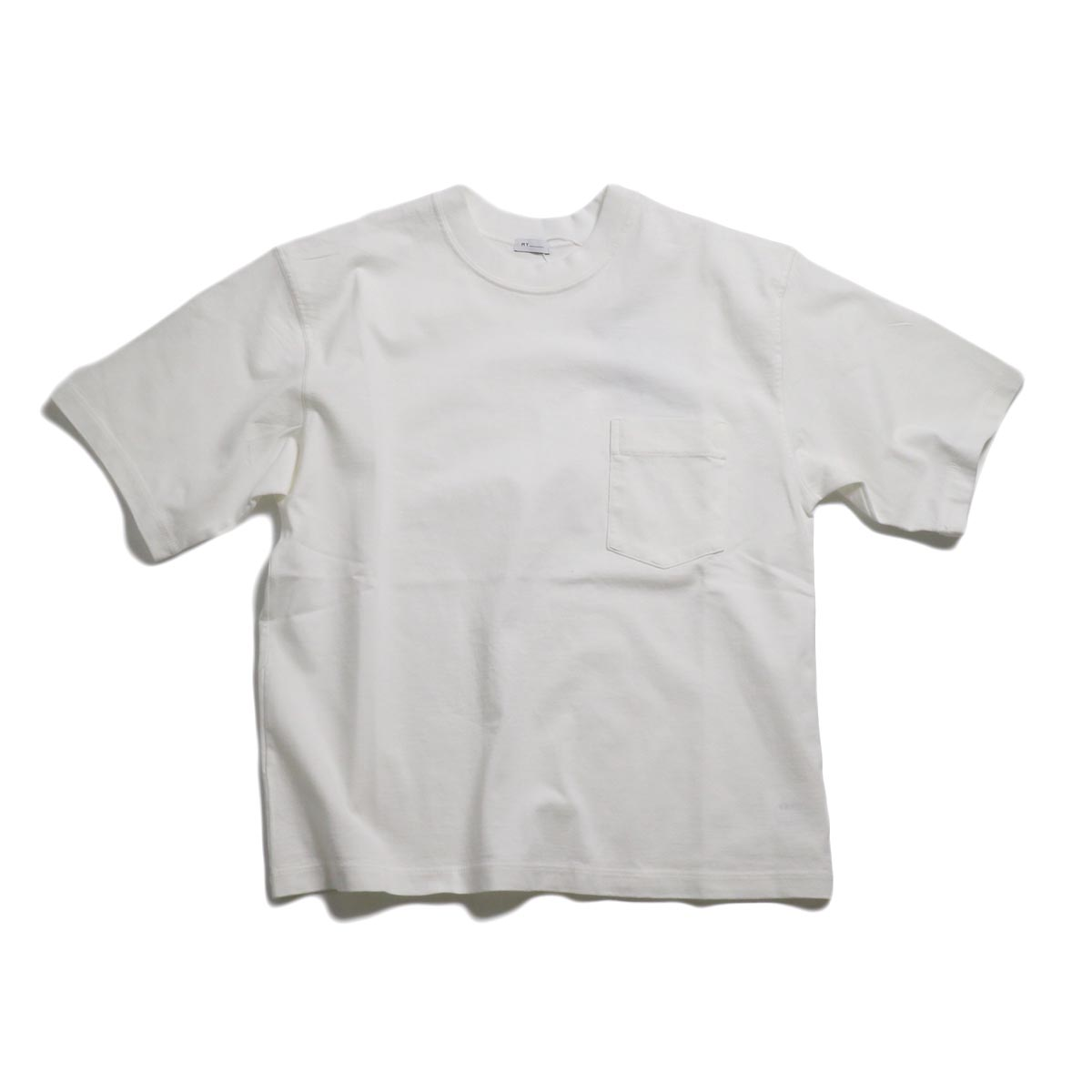 MY_ / Yaah Dozume Pocket T-Shirt -White