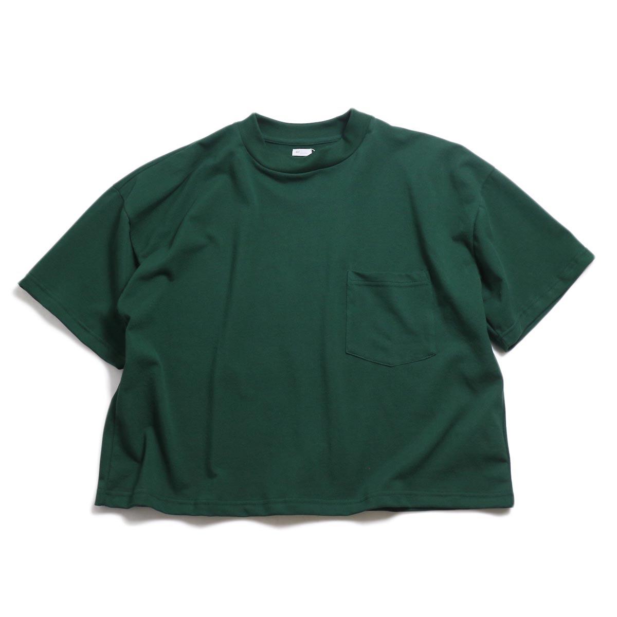MY_ / Pique T-Shirt -Green