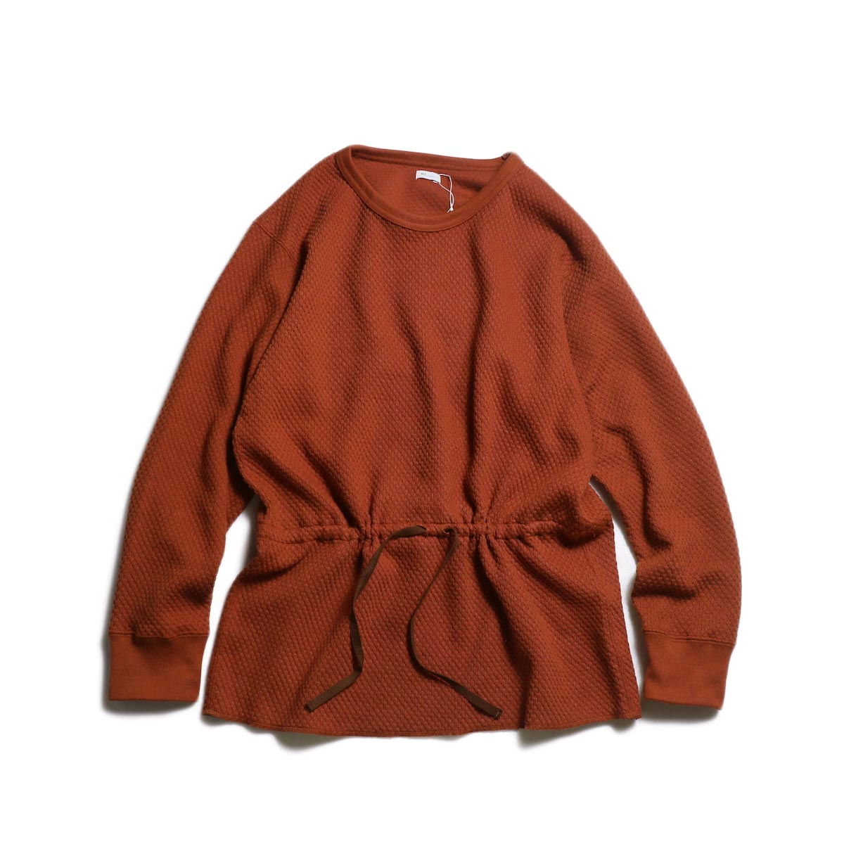 MY_ / PERLUM TRUNK KNIT -brown