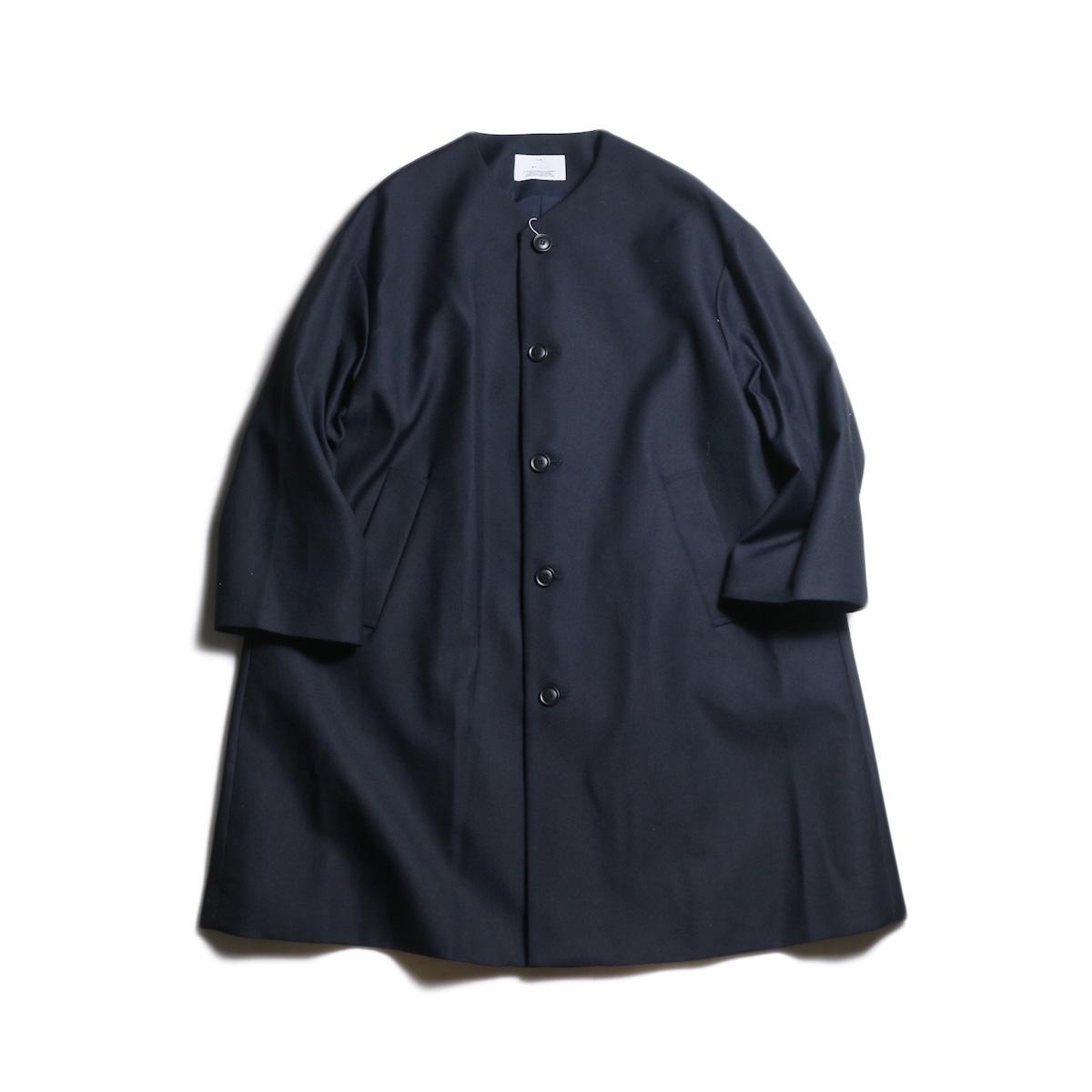 MY_ / FLARE COAT (Navy)