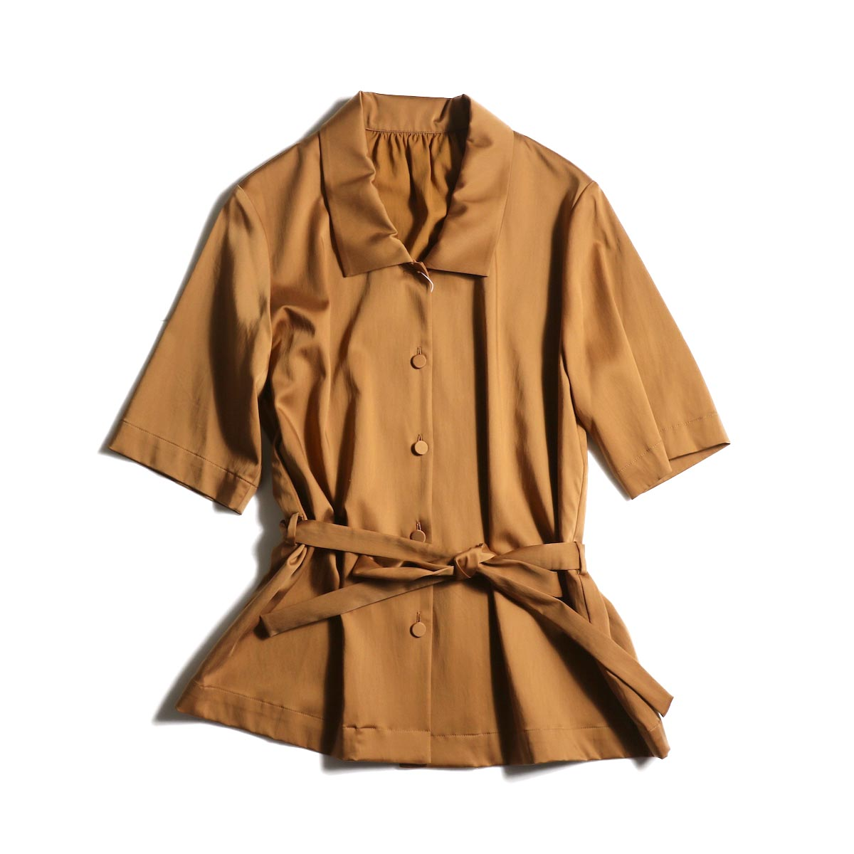 MY___ / LOOSE SHIRT (Brown)