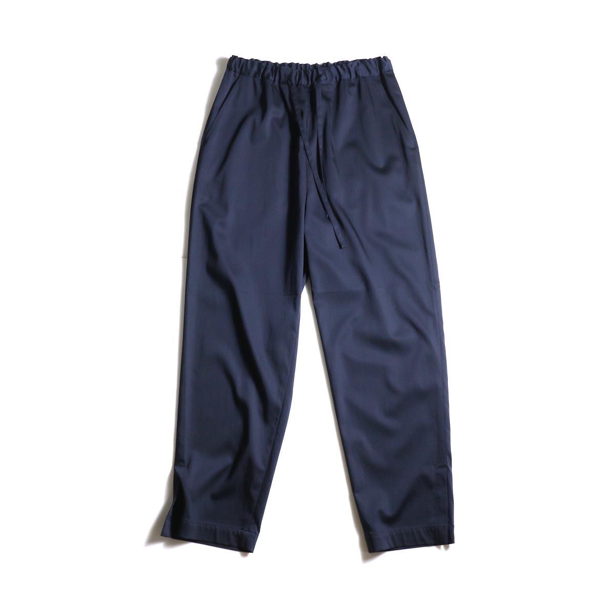 MY___ / EASY GATHER PANTS (Navy)