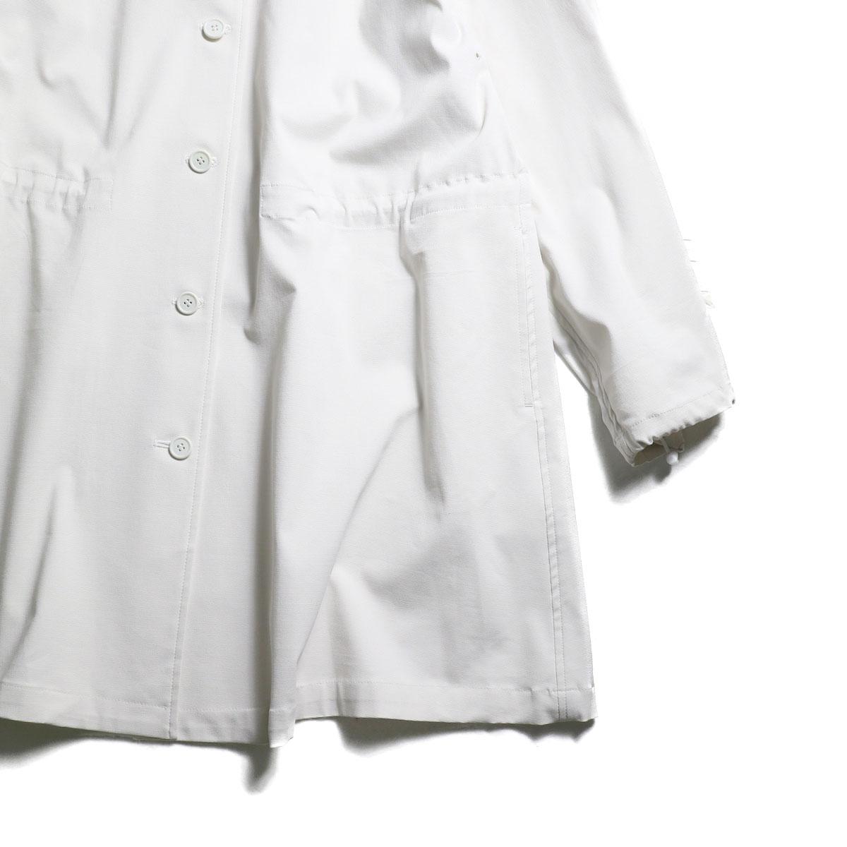 MY_ / Drawstring Blouson (ECRU)袖、裾