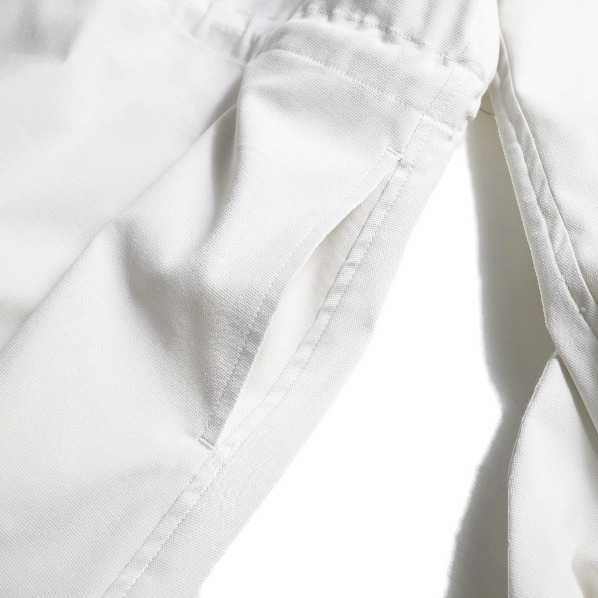 MY_ / Drawstring Blouson (ECRU)ポケット