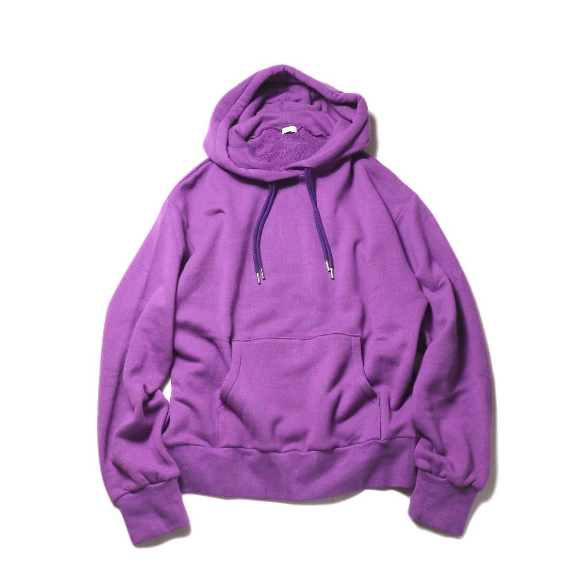 MY_ / SWEAT HOODIE (purple)