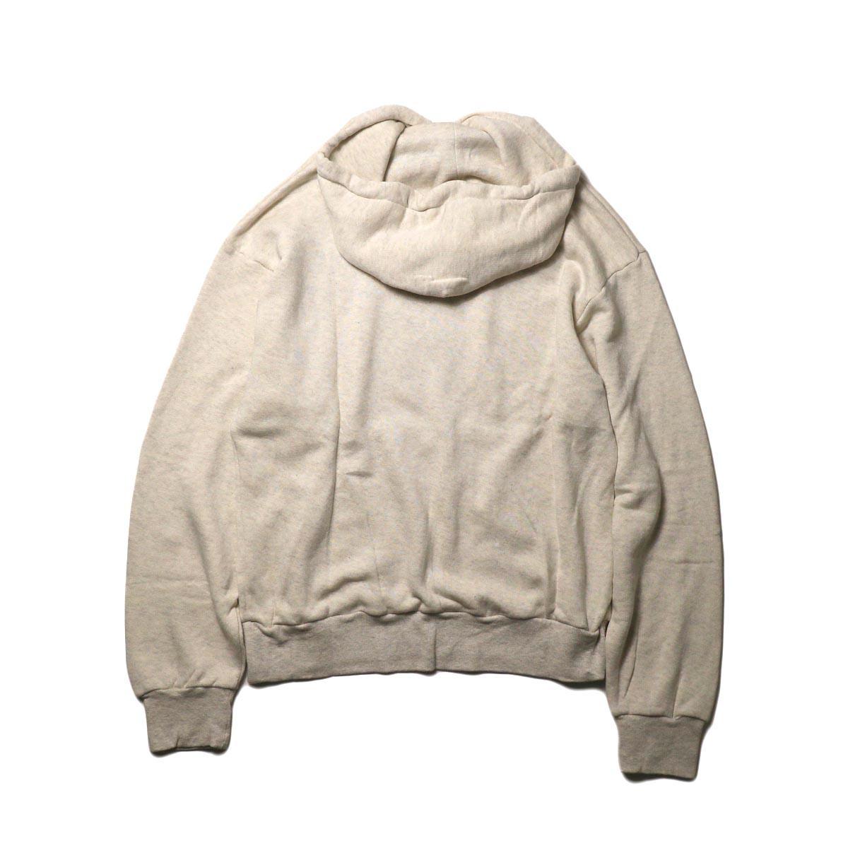 MY_ / SWEAT HOODIE (white) 背面