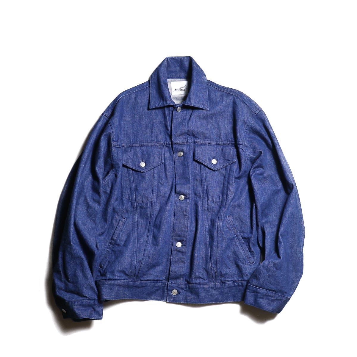 MYTHINKS / MY BIG G-Jacket (Autumn Blue)