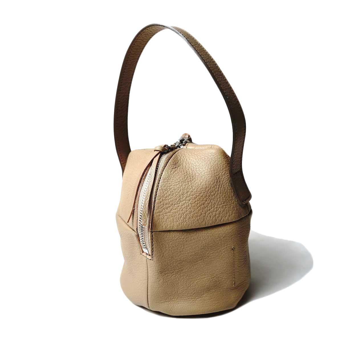 MYTHINKS / MY MINI DUFFLE BAG GOAT -Small- (Beige)