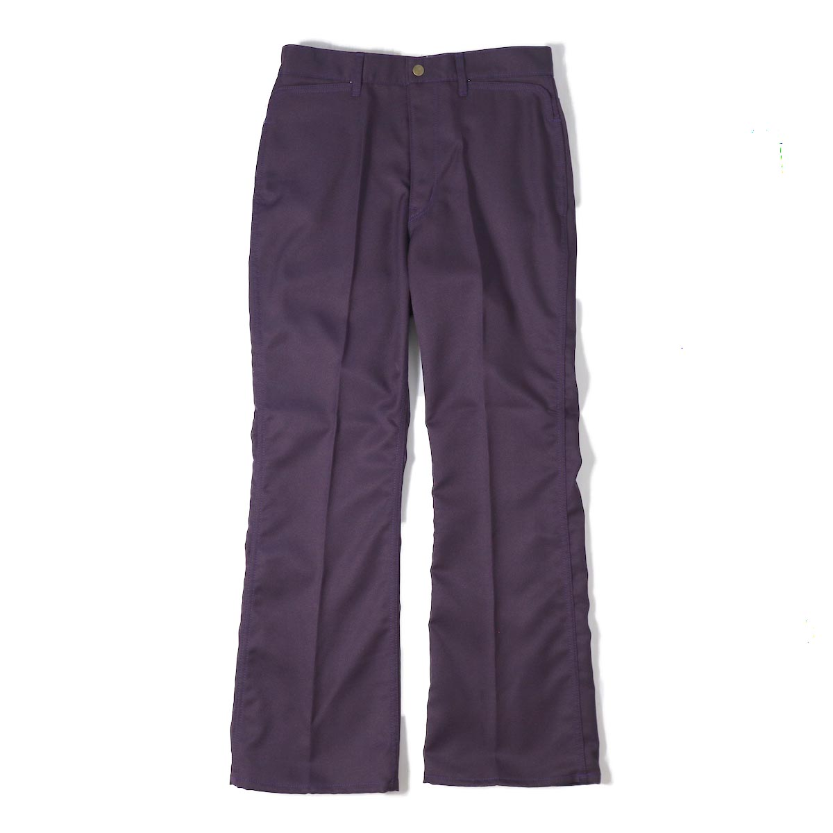 NEEDLES / Boot Cut Jean Poly/C Elastic Twill -Purple