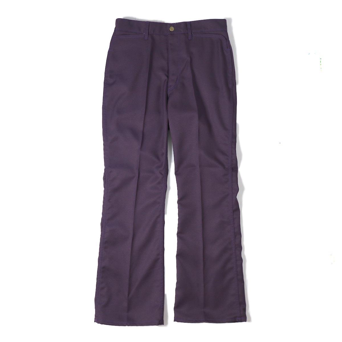 NEEDLES / Boot Cut Jean Poly/C Elastic Twill -Purple