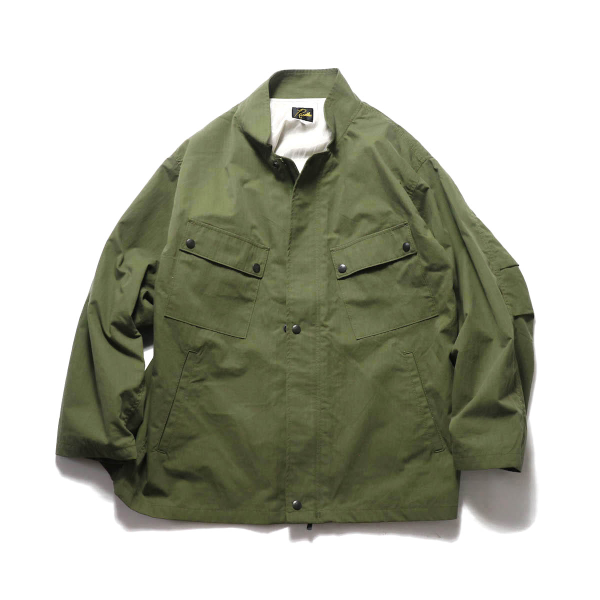 NEEDLES / Chemical Protective Jacket -C/N Ripstop Peach