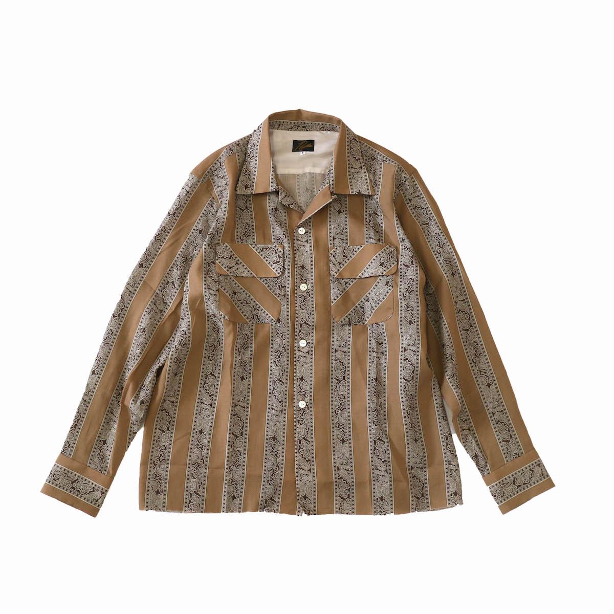 Needles / Classic Shirt - tencel beige