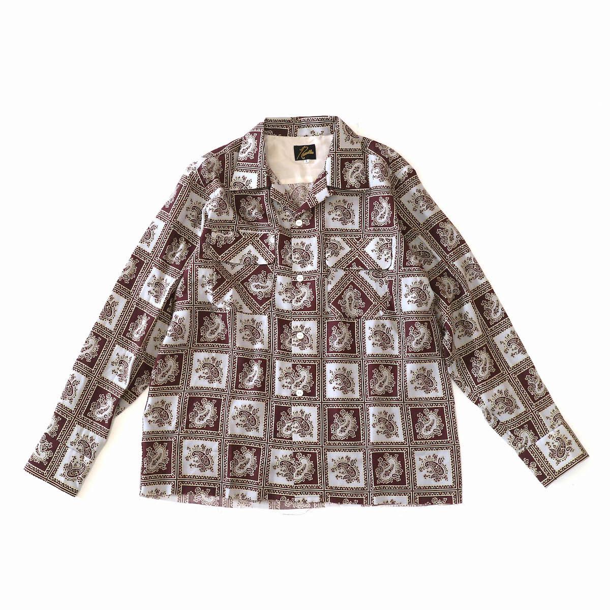 Needles / Classic Shirt - tencel - brown