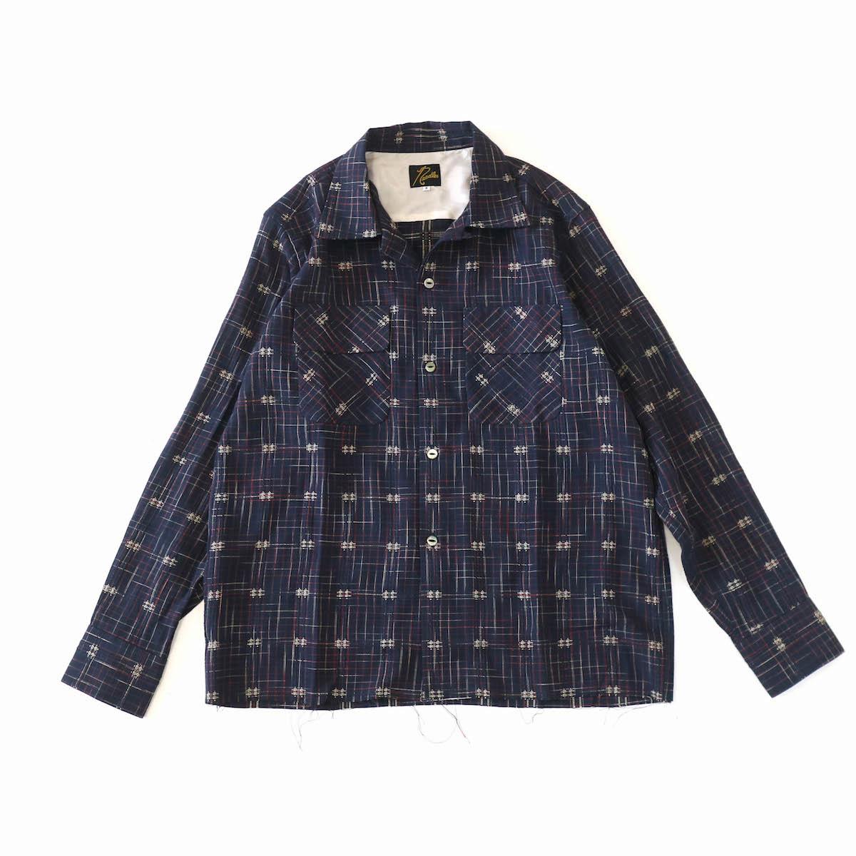 Needles / Classic Shirt - Rayon Dobby Plaid