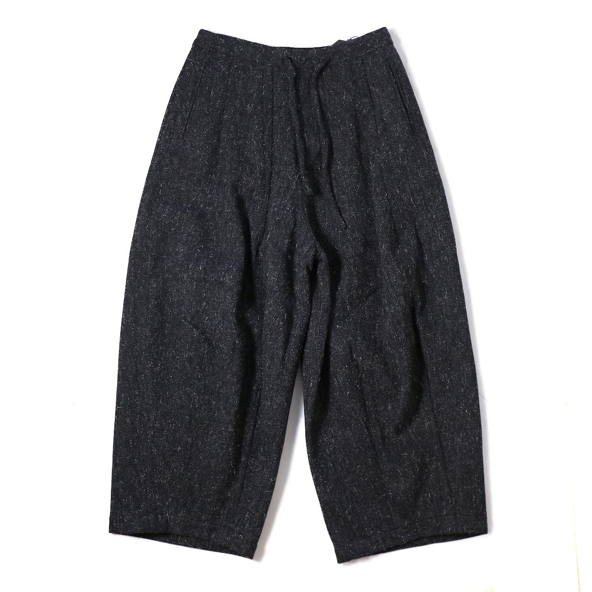 NEEDLES (WOMENS) / Darts Military Pant W/Pe/A/N Tweed -CHARCOAL
