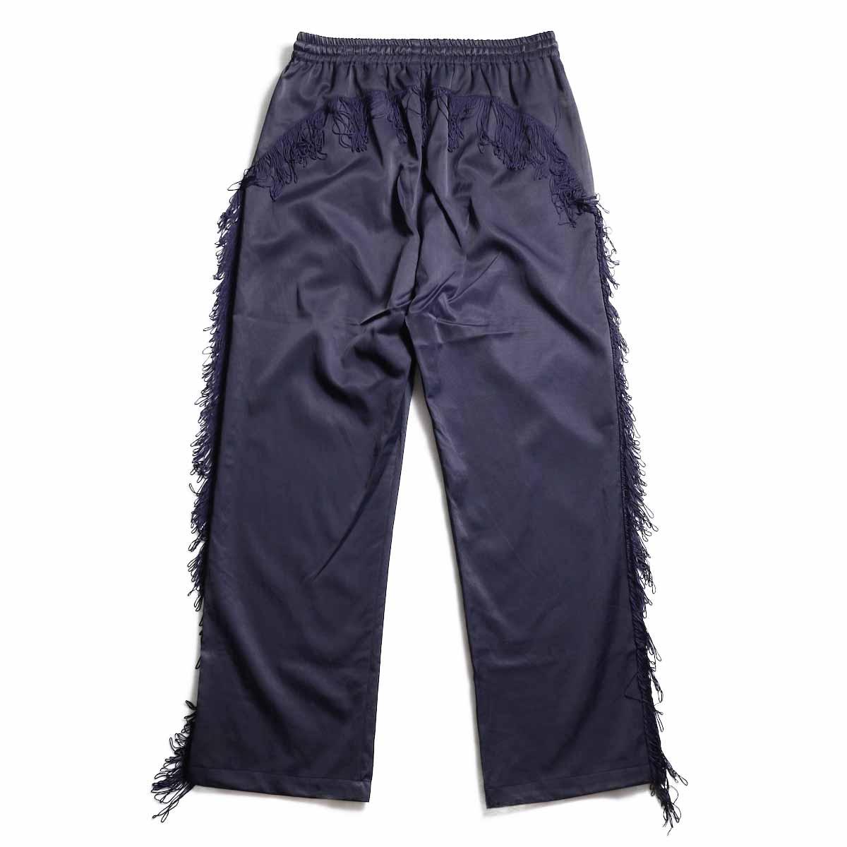 Needles / Fringe Cowboy Pant -R/C Twill Sateen (Purple) 背面