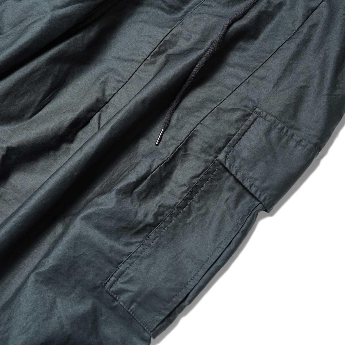 Needles / H.D. PANT-BDU (Black) サイドポケット