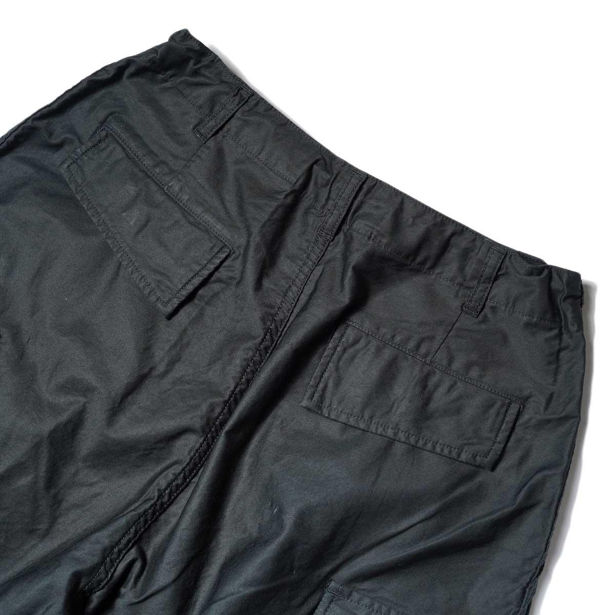 Needles / H.D. PANT-BDU (Black) 背面ポケット