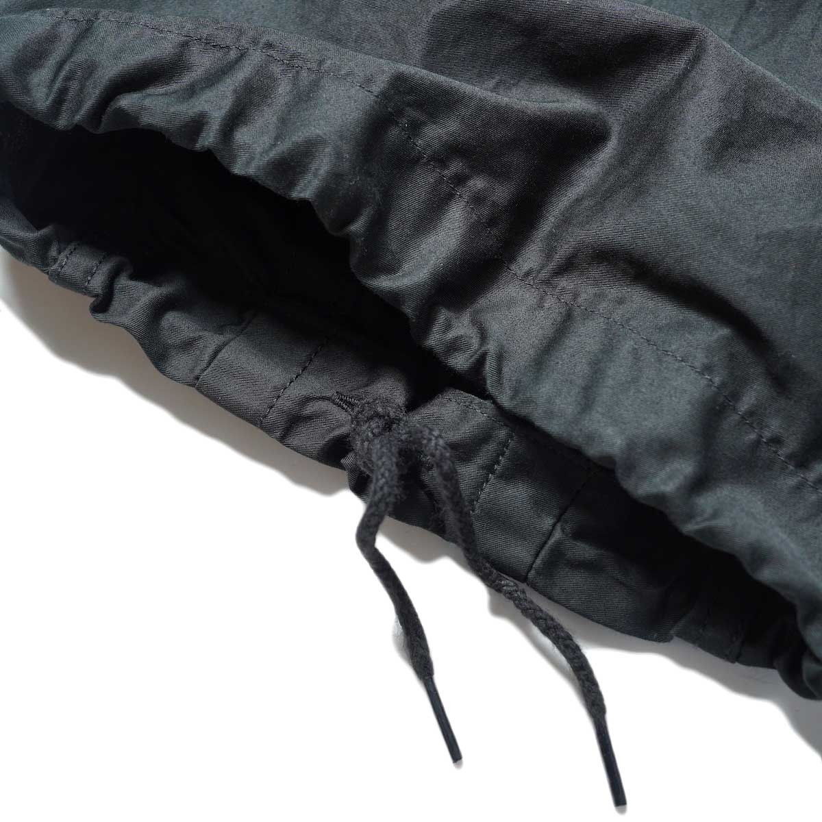 Needles / H.D. PANT-BDU (Black) 裾アップ