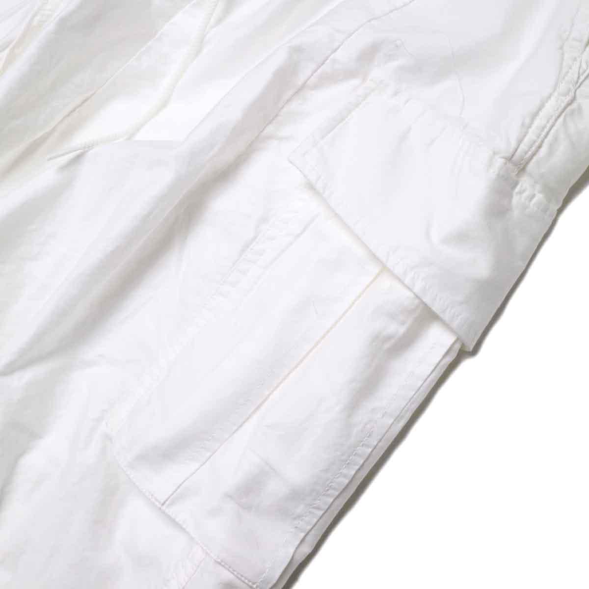 Needles / H.D. PANT-BOU (Off White) サイドポケット