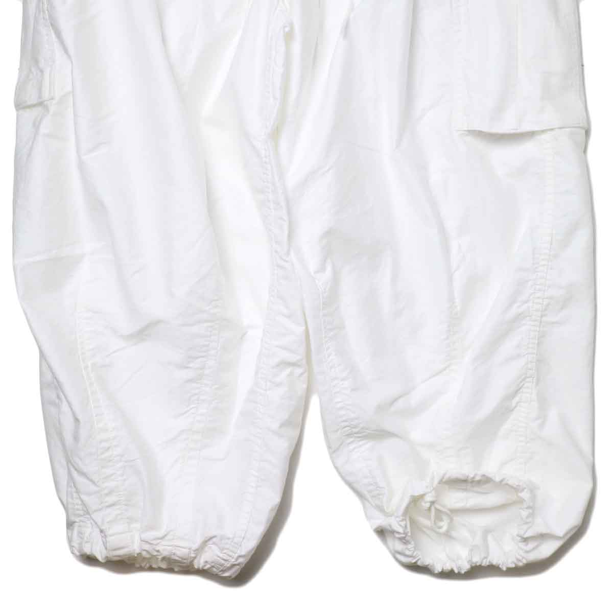 Needles / H.D. PANT-BOU (Off White) 裾