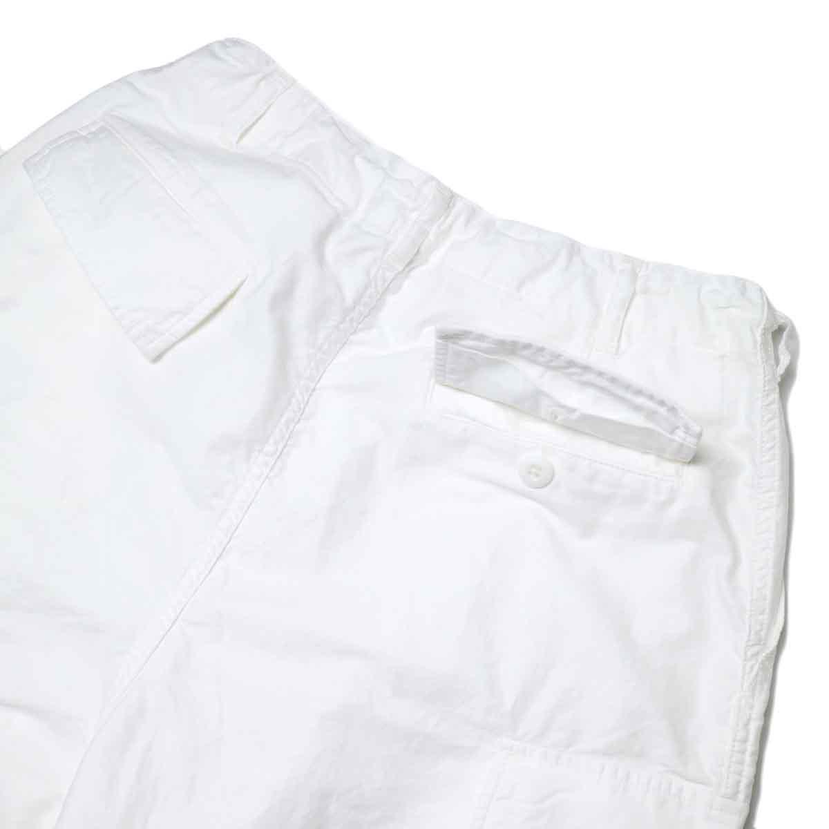 Needles / H.D. PANT-BOU (Off White) 背面ポケット