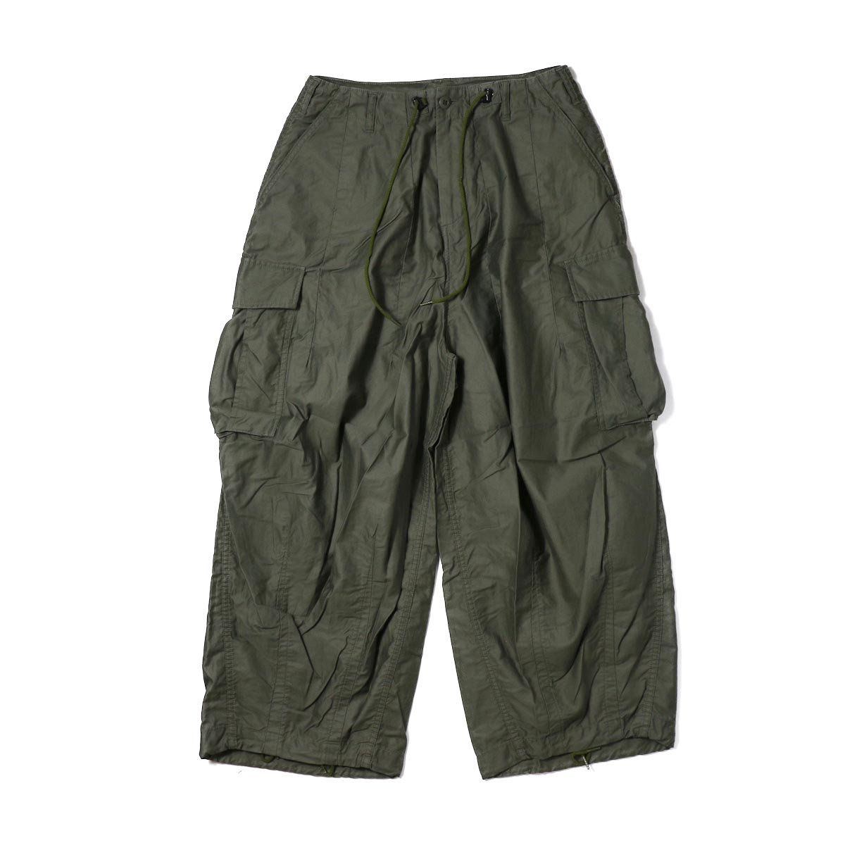 NEEDLES (WOMENS) / H.D.Pant BDU -OLIVE
