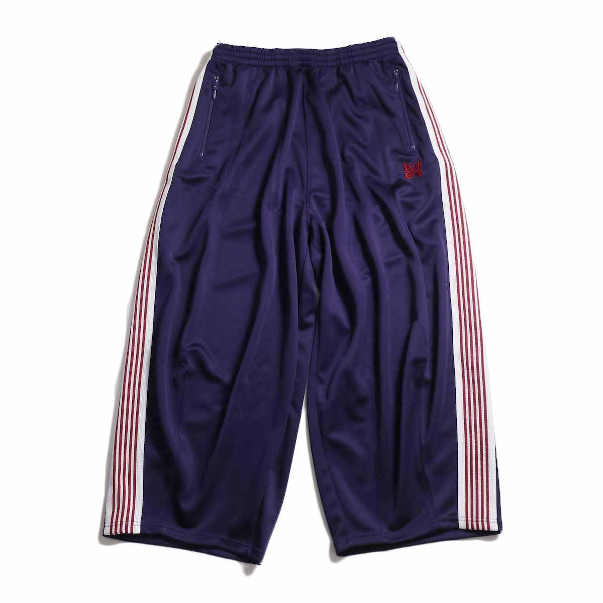 NEEDLES / H.D. Track Pant  Poly Smooth -Eggplant 正面