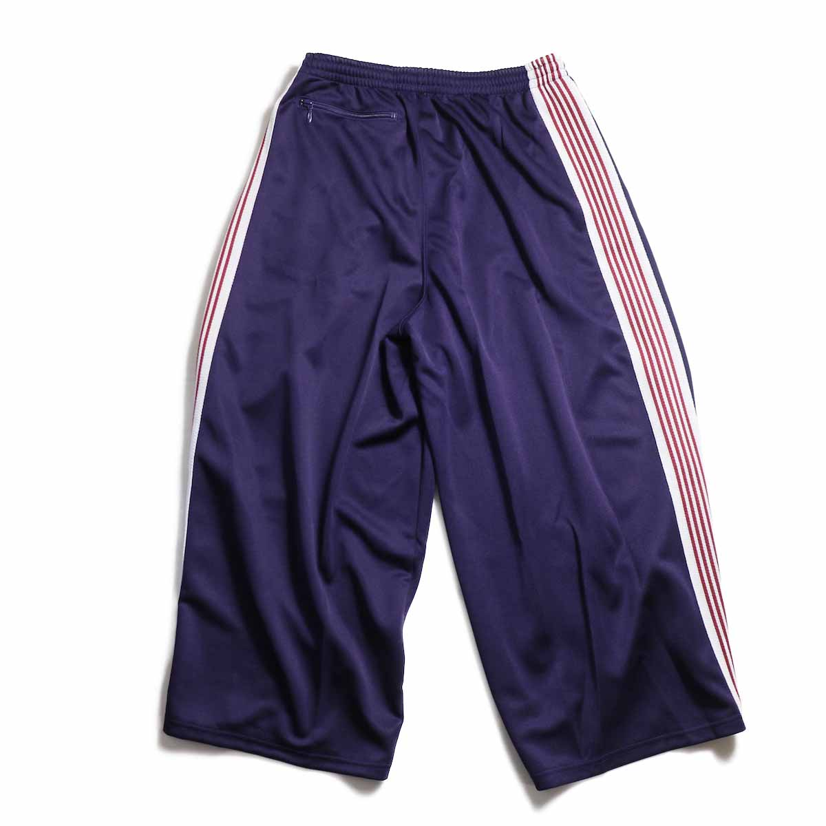 NEEDLES / H.D. Track Pant  Poly Smooth -Eggplant 背面